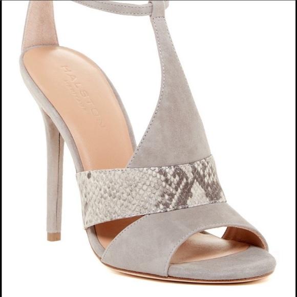 Halston Heritage stiletto sandals. Size 8